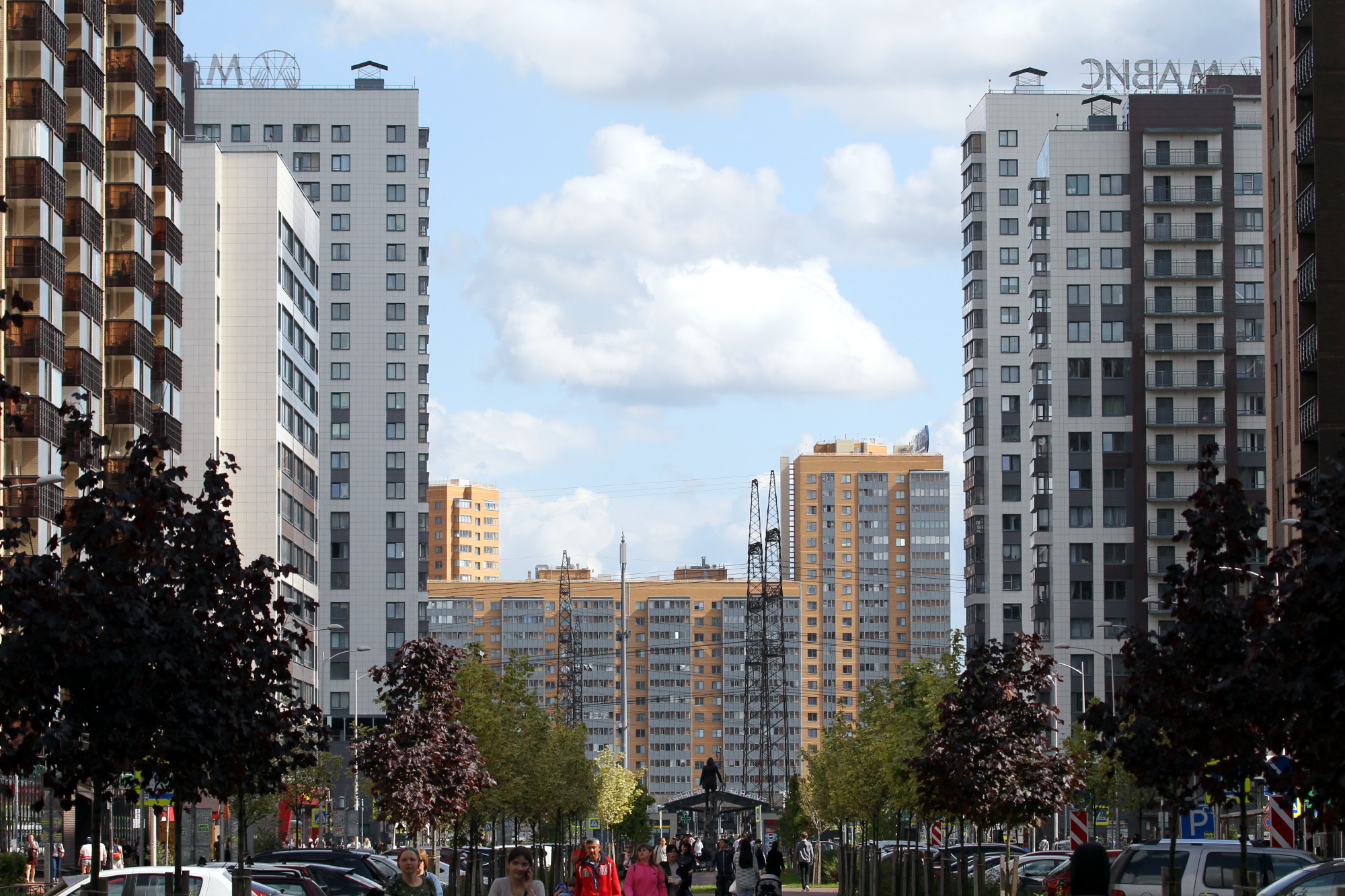 Мурино новостройки жилые дома