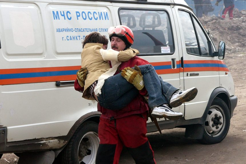 МЧС учения спасатели эвакуация