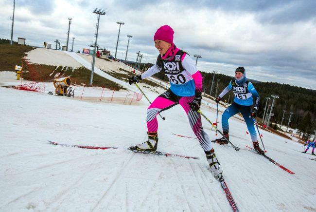 лыжи спринт лыжный зимний спорт