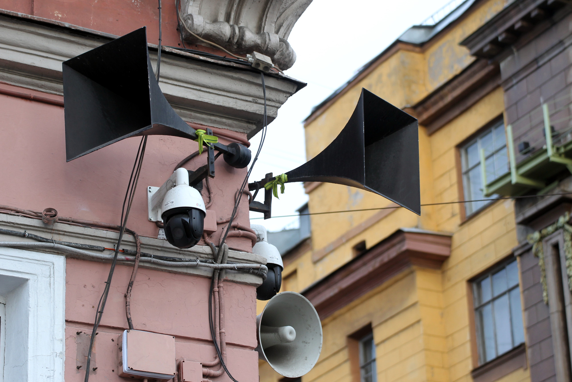 репродукторы Невский проспект Малая Садовая улица