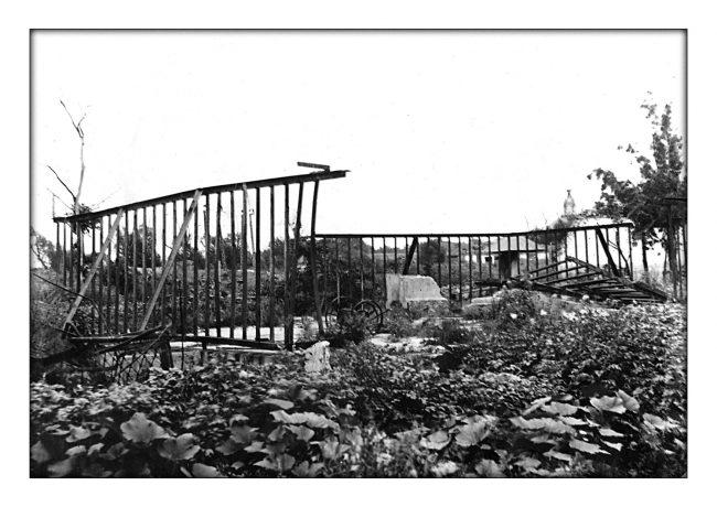 руины слоновника, блокада