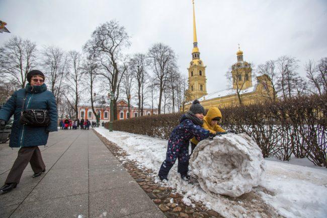 масленица дети петропавловская крепость