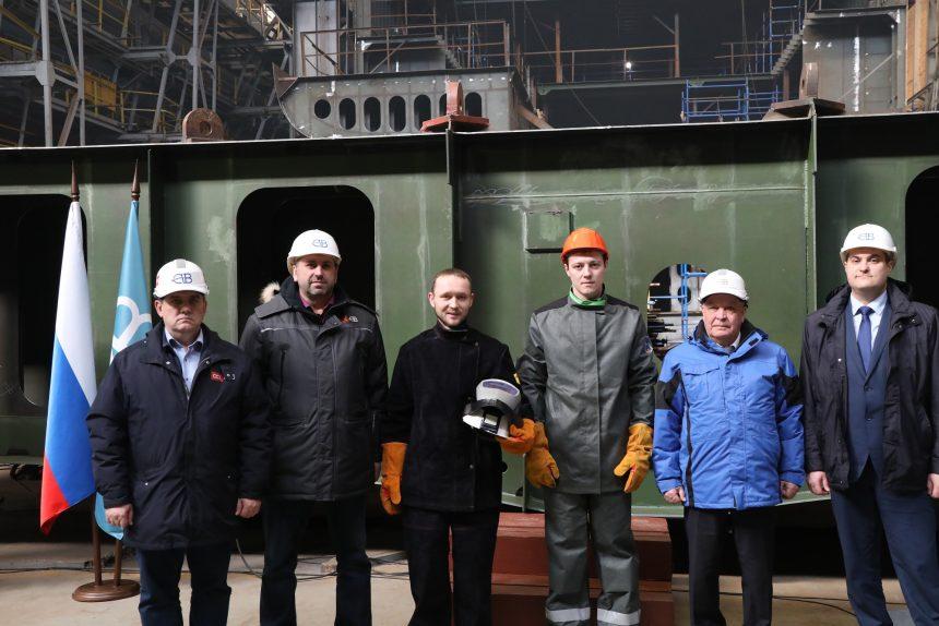 северная верфь, судостроение, строительство траулера Капитан Тузов