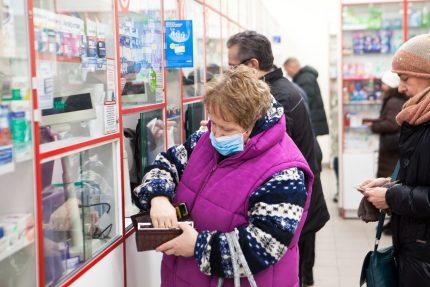 медицинская маска, грипп, эпидемия, аптека, коронавирус