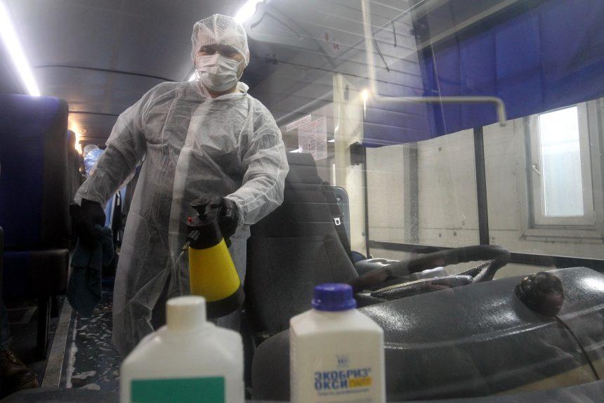 дезинфекция санитарная обработка коронавирус автобусы