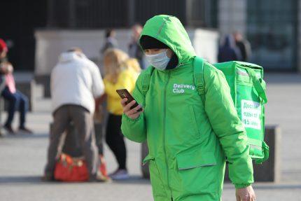 маски, здоровье, коронавирус, карантин, курьер