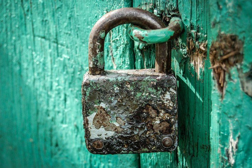 замок ключ ржавчина закрыто закрытие