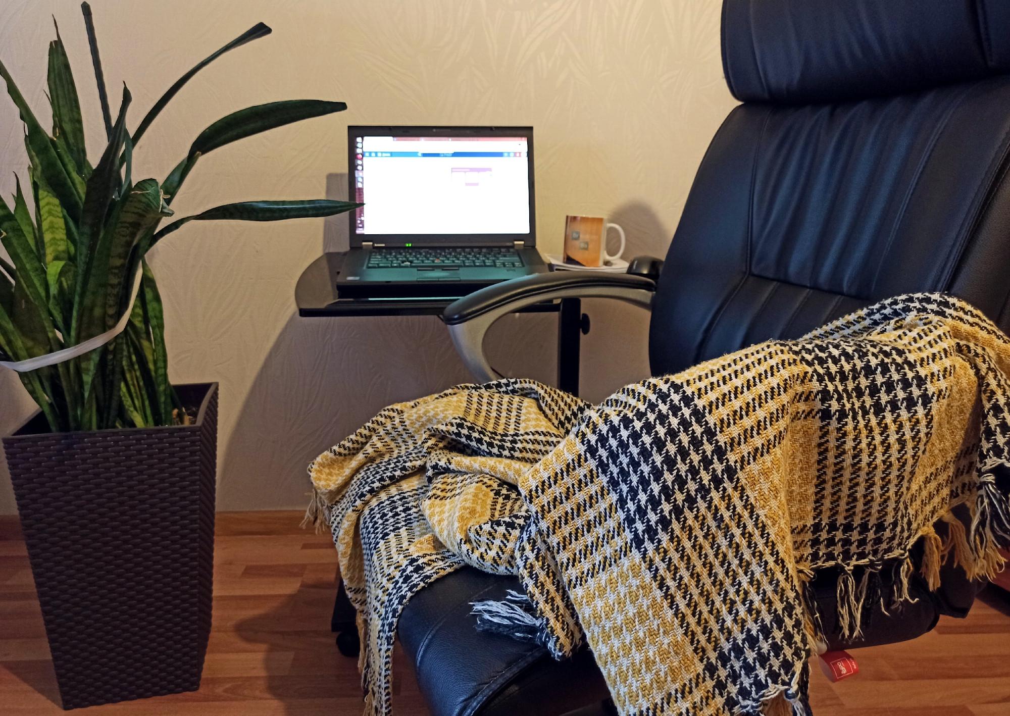 рабочее место, компьютер, изоляция, карантин