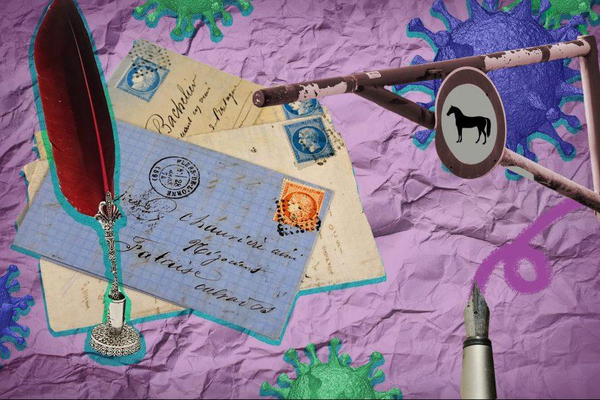 коронавирус, карантин, письма, блокпост