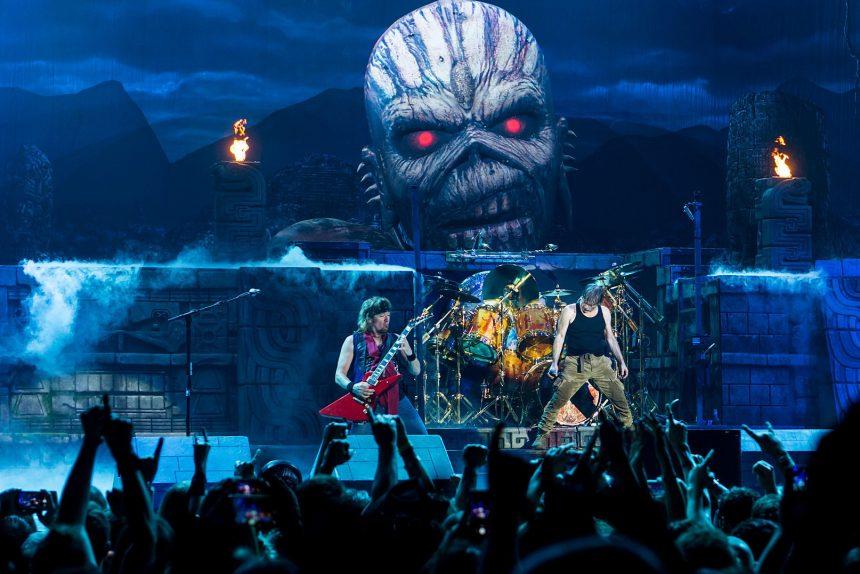 Iron Maiden, концерт, музыка, heavy metal