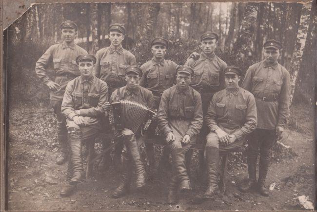 Фёдор Алексеевич Бебнев на срочной службе. Конец 1920-х – начало 1930-х годов.