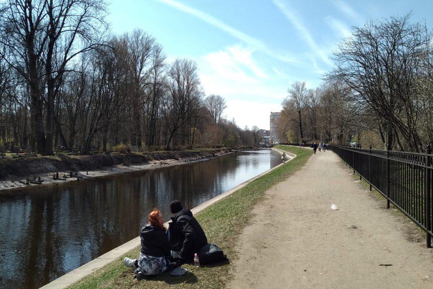 Смоленка, прогулки, весна, пара, любовь