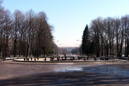 фонтан Славы, Московский парк Победы