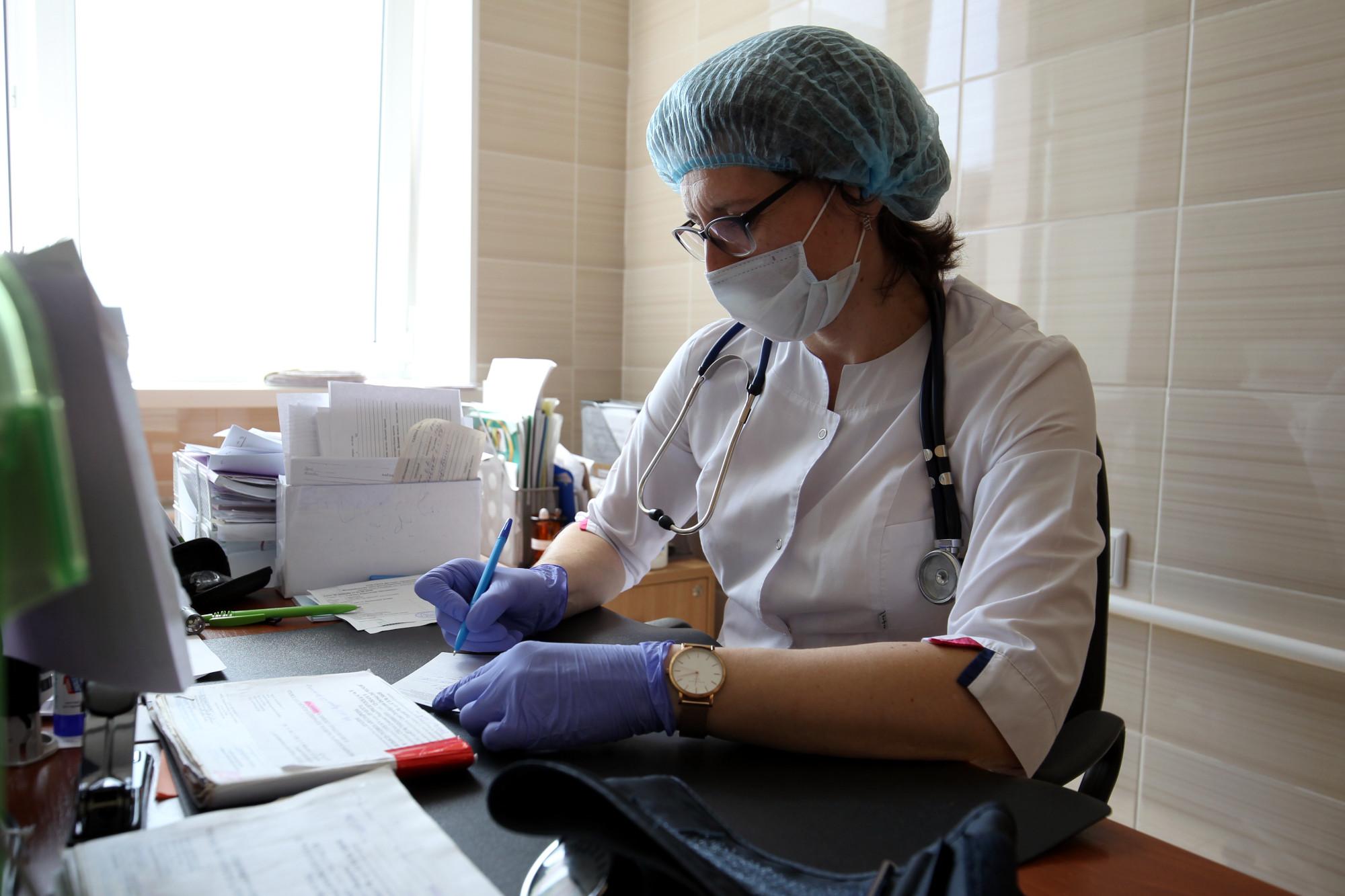 поликлиника 117, Осиновая Роща, Оксана Казаринова, врач, терапевт