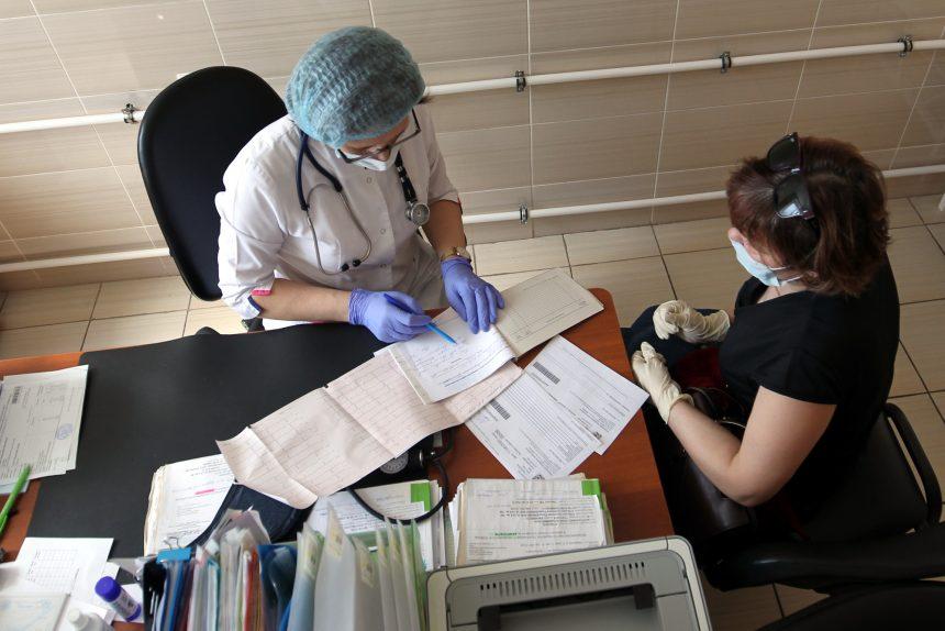поликлиника, врач, терапевт, приём, медицинская помощь, медицина