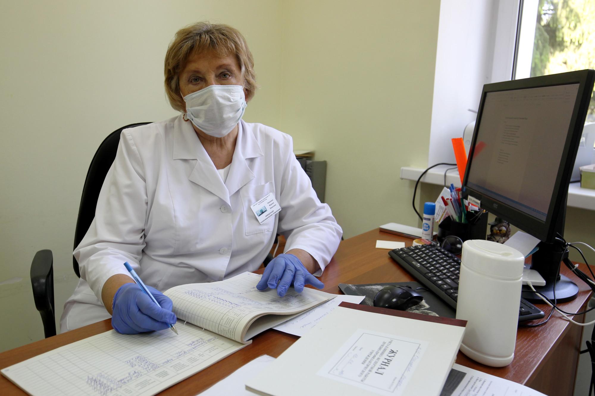 поликлиника 117, Осиновая Роща, Марина Чеканина, врач, заведующая отделением