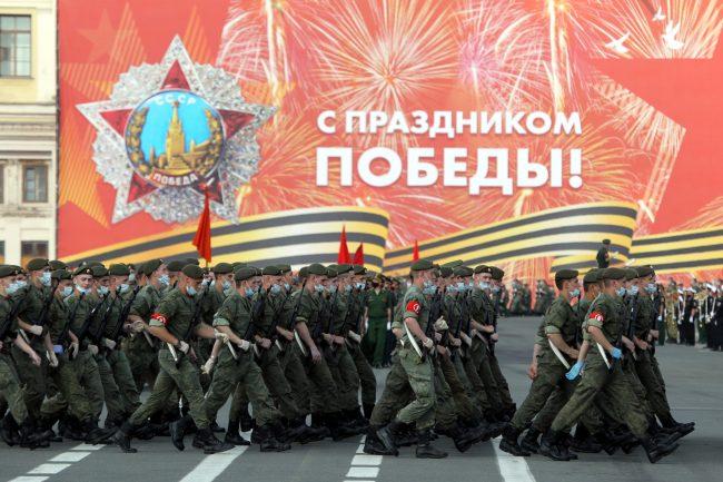 репетиция парада Победы, армия, солдаты