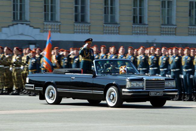 парад победы, генерал Александр Журавлёв, командующий ЗВО
