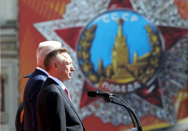 парад победы, Александр Беглов, губернатор Санкт-Петербурга