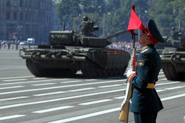 парад победы, военнослужащие, армия, солдаты, танк