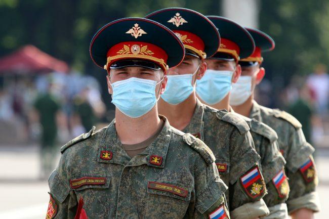 репетиция парада Победы, армия, солдаты, Дворцовая площадь