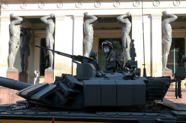 парад победы, танк т-72бм
