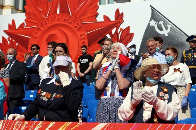 парад победы, ветераны