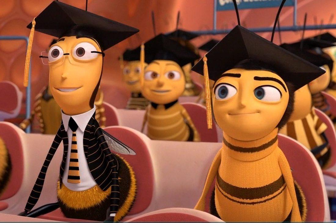 студент выпускной пчела
