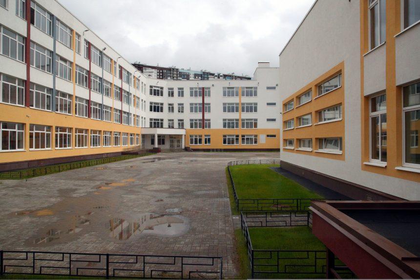 школа, строительство, Комендантский проспект