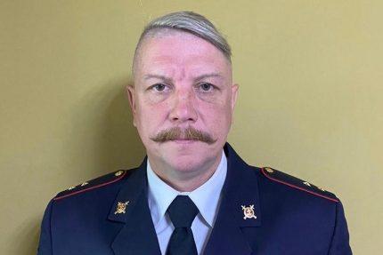 полицейский прапорщик Евгений Беляков