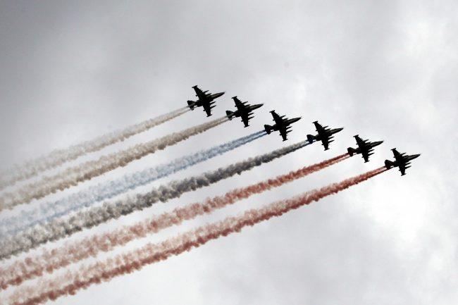 авиация, самолёты, репетиция, главный военно-морской парад, день ВМФ
