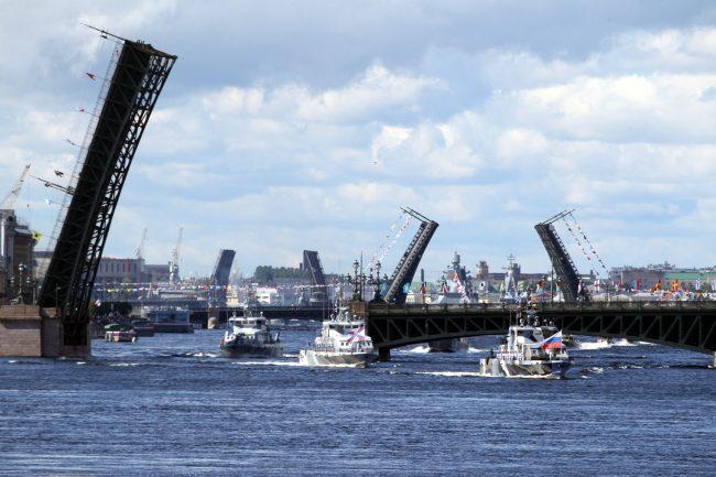 день ВМФ, главный военно-морской парад, военные корабли