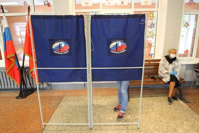 голосование, избирательный участок 30, поправки в конституцию, кабинка
