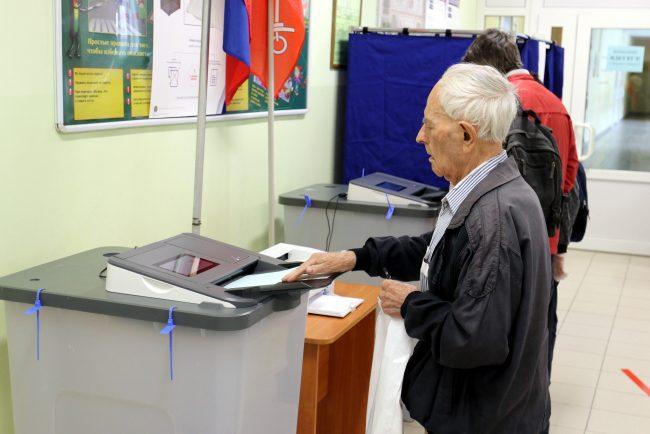 голосование, избирательный участок 174, поправки в конституцию