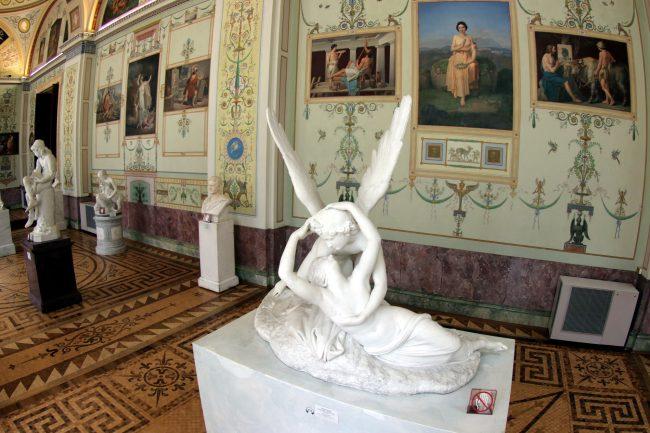 Эрмитаж, Эрот и Психея, скульптура, поцелуй, любовь
