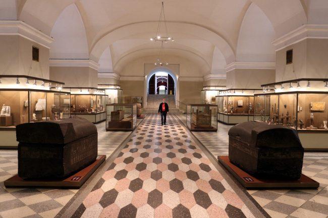 Эрмитаж, Египетский зал, карантин