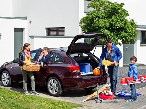 семья автомобиль дом прогулка