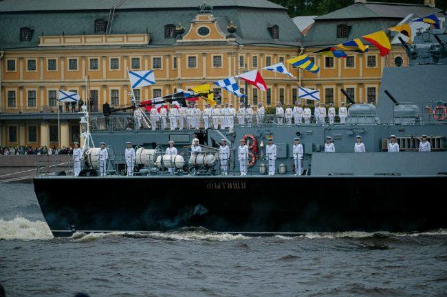 день ВМФ, главный военно-морской парад
