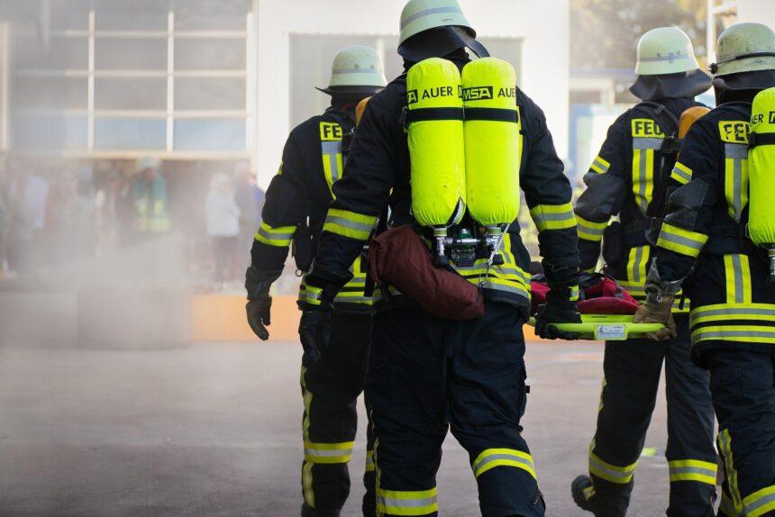 пожарные, заграничные
