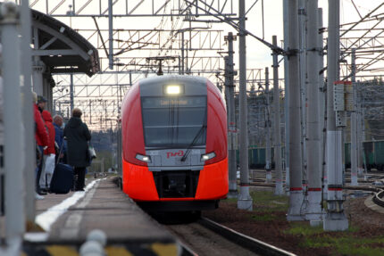 железная дорога железнодорожный транспорт ржд электропоезд электричка ласточка зеленогорск