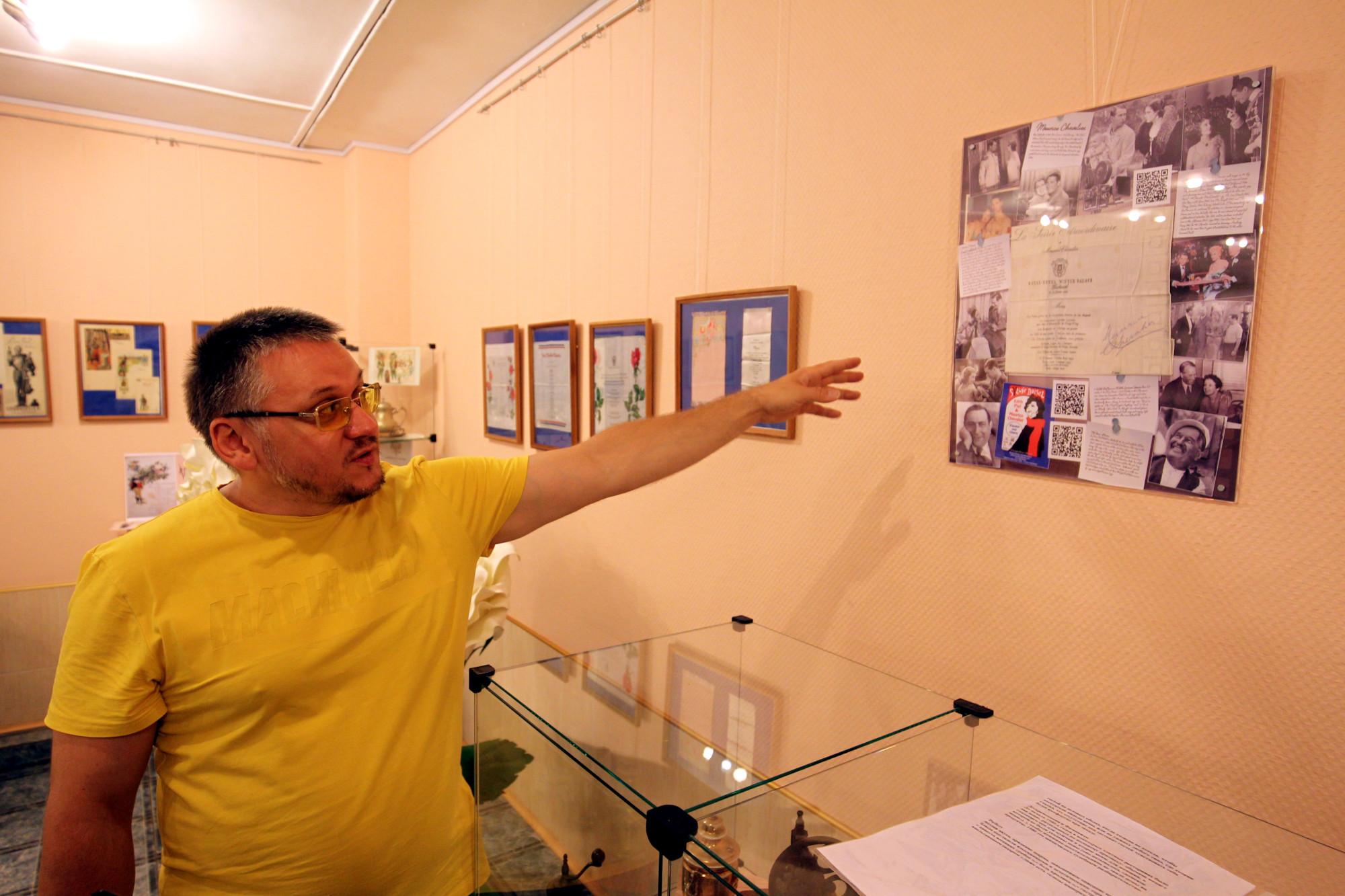 выставка меню, ДК Песочный
