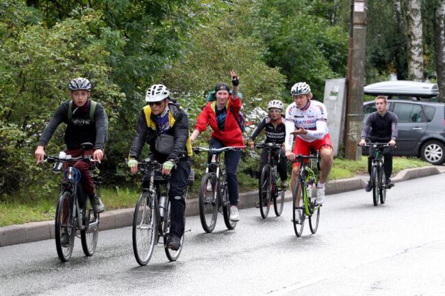 благотворительный заезд, велосипедисты, фонд Свет, Влад Важенин