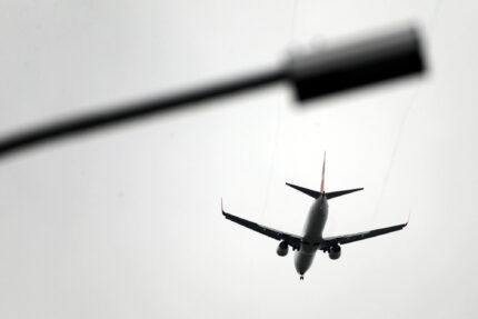 самолёт, авиалайнер, воздушный транспорт, авиасообщение