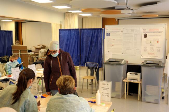 выборы губернатора Ленинградской области, избирательный участок