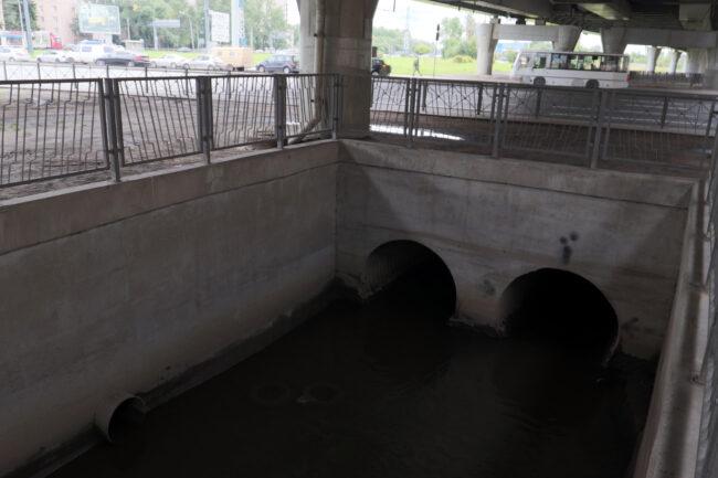 Лиговский канал, Ленинский проспект, канализация