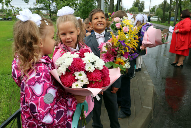 день знаний, 1 сентября, дети, школьники, школа 414