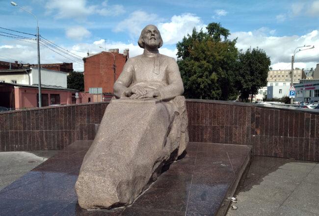 памятник Константину Циолковскому, улица Циолковского