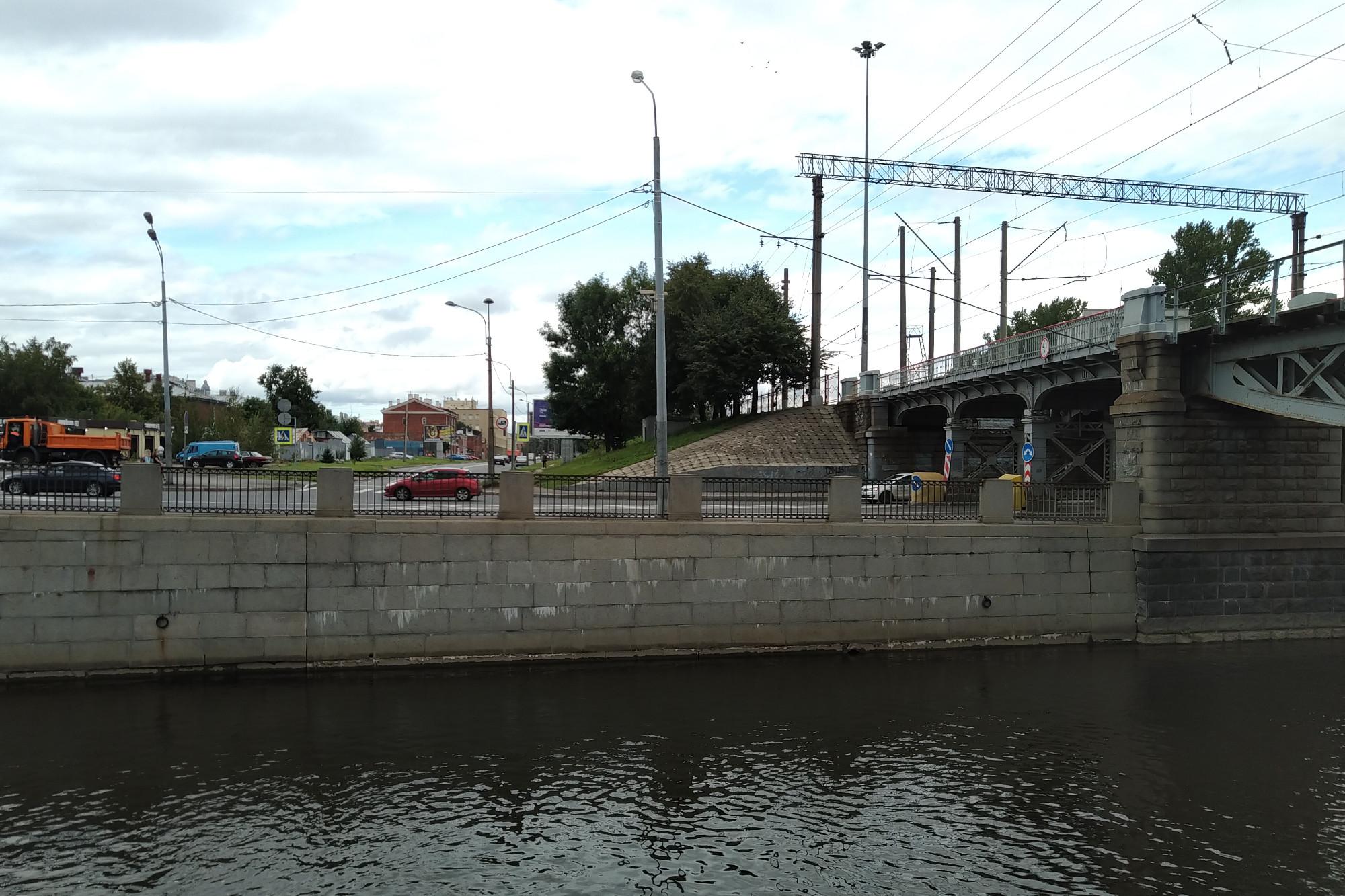 Введенский канал, Обводный канал