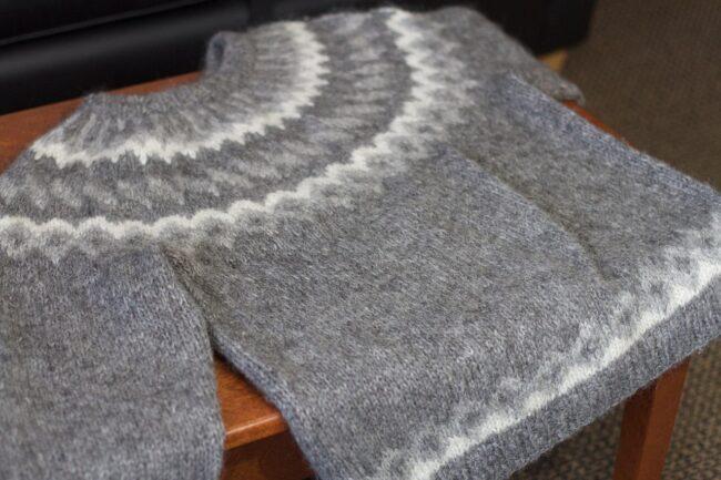 лопапейса исландский свитер