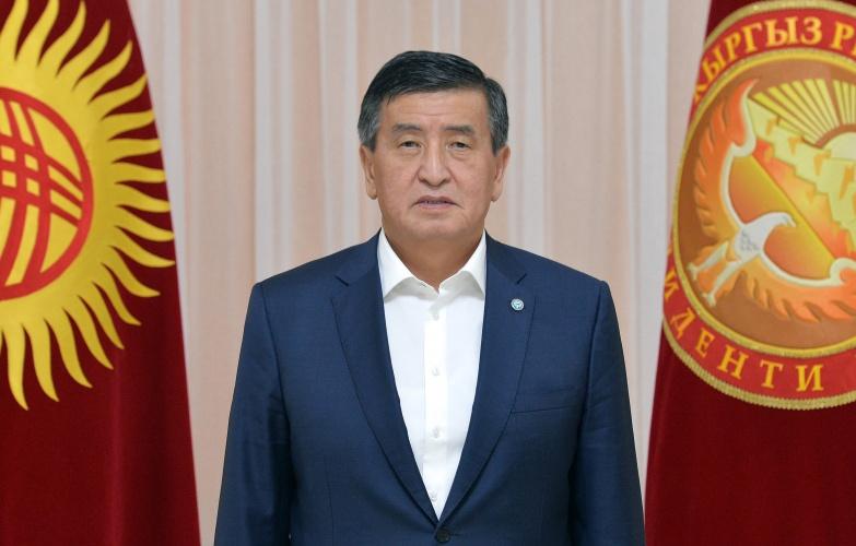 Сооронбай Жээнбеков, президент Киргизии